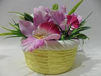 Цветочная композиция «Корзина с цветами»