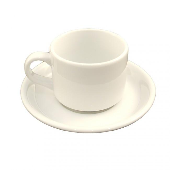 Чашка  Lubiana 190 мл с блюдцем 150мм Ameryka