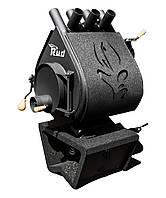 Отопительная конвекционная печь Rud Pyrotron Кантри 00 С обшивкой декоративной (черная)