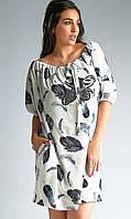 ea47b04dd3d777 Повсякденне стильне плаття великих розмірів Likara чорний розмір 50 52 54  56 58 60 62