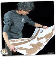 Scratch map: настенная Scratch -карта в подарочном тубусе (English)