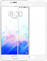 Скло 3D Meizu M5c Білий