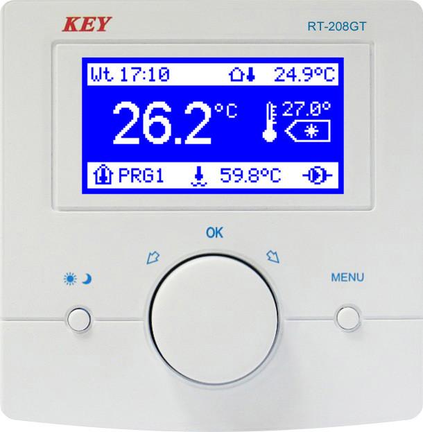 RT-208GT комнатная панель термостат для автоматики RK-2006 LPG/LPG2