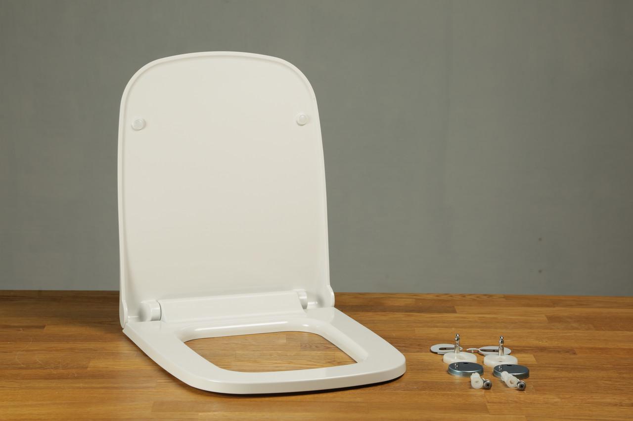 Сиденье из дюропласта с крышкой Lento 0405
