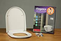 Сиденье для унитаза с микролифтом Elegance 0402