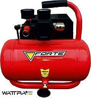 ⭐ Компрессор COF-6 FORTE 7 атм. 0,75 кВт, вход: 80 л/мин, ресивер 6 литров