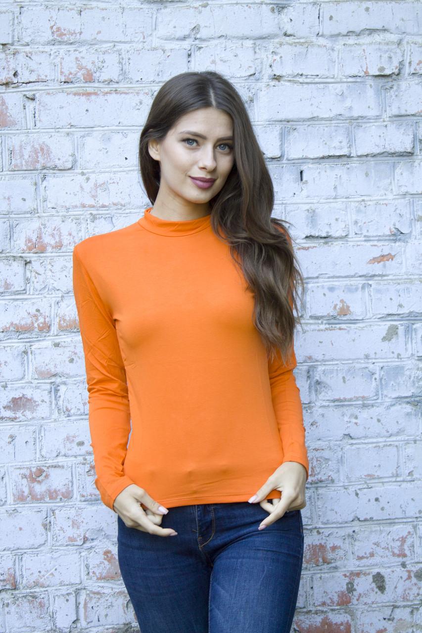 Оранжевый женский гольфик