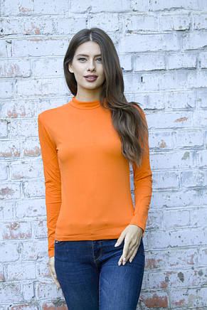 Оранжевый женский гольфик , фото 2