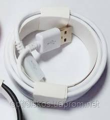 Кабель USB-micro USB, резиновый на катушке, s-713, фото 2