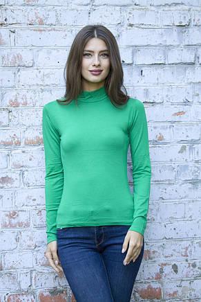 Женский гольф зеленый, фото 2