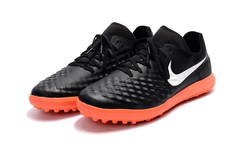 23670fbe Бутсы сороконожки Nike MagistaX Finale II TF black/orang от интернет ...