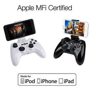 MFI Джойстик геймпад для устройств на IOS PXN 6603. Белый цвет