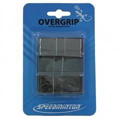 Обмотка на ручку ракетки Speedminton Overgrip (3 шт.) Black