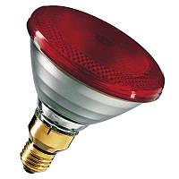 Лампа инфракрасная Philips PAR38 IR 175W E27 230V Red 1CT/12 DIM