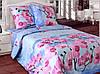 Комплект постельного белья двойной ОРХИДЕЯ