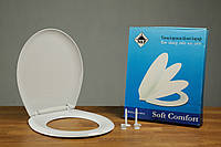 Полипропиленовое сиденье для унитаза с микролифтом Comfort 0305