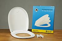 Туалетное сиденье с микролифтом из термопласта Royal 0306