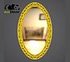 Зеркало настенное Marseilles в золотой раме, фото 2