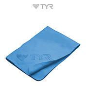Распродажа! Cпортивное PVA полотенце TYR Sport Towel (Blue) 43х33см