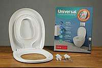 Крышка для унитаза с детским сиденьем на магните Universal 0340