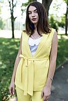 Жёлтый жилет-жакет Montana