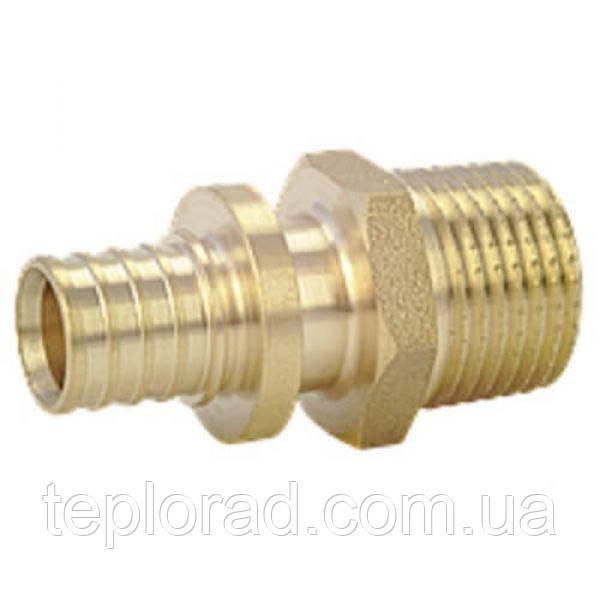 Муфта Heat-PEX с наружной резьбой d16 x G 1/2