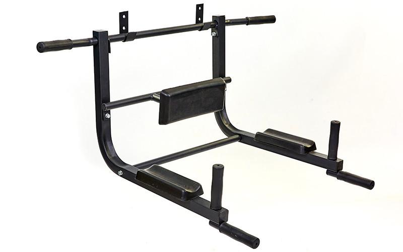 Турнік - бруси - кріплення до стіни UR (р-р 100x45x70 см)
