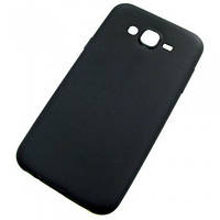 Черный силиконовый чехол Samsung J7 / J7 Neo