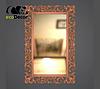 Зеркало настенное Medan в бронзовой раме, фото 2