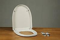 Туалетное сиденье с микролифтом из дюропласта Style 0408