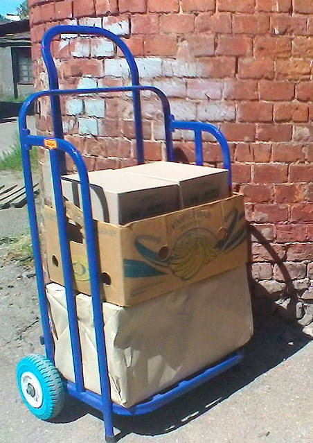 Kolvi ТГC-100.200.72 ручная тележка для перевозки грузов, фото 4