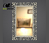 Зеркало настенное Medan в серебряной раме, фото 2
