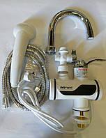 Проточный водонагреватель Делимано с Душем (нижняя подводка)