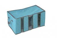 Органайзер для одежды HAICAR Бамбук 60см*35см*30см Голубой