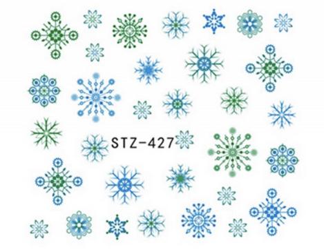 Слайдер-дизайн для ногтей STZ-427 6.2*5.2 см