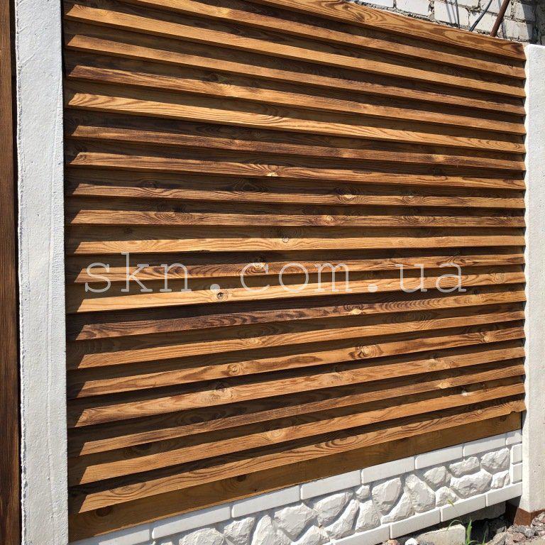 Забор из импрегнированной сосны Невада