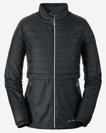 Демисезонная женская куртка Eddie Bauer Womens Selene Jacket Black, фото 2