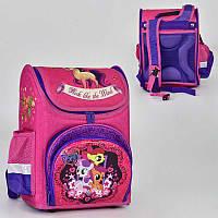 Рюкзак школьный N 00190 (30) 2 кармана, спинка ортопедическая, ножки пластиковые