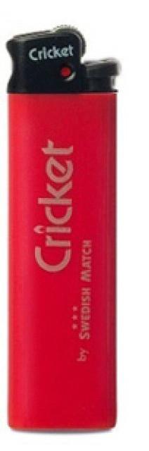 Зажигалка Criket Standart цветной 25шт/уп