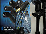 Провода высоковольтные ГАЗ 3110 ГАЗЕЛЬ СОБОЛЬ ВОЛГА 406 двиг.с наконечникамиТесла TESLA T712S silicone premium, фото 3