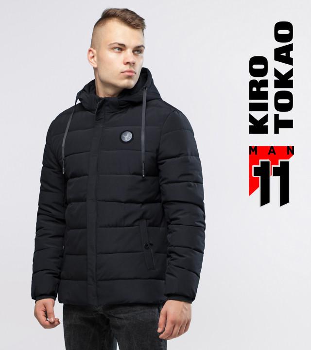 11 Киро Токао | Зимняя куртка мужская 6015 черный 2XS