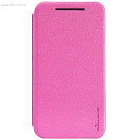 Чехол Nillkin Sparkle Leather Case для HTC Desire 210 Hot Pink