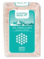 Соль гималайская розовая мелкого помола, 600 г, TM CRYSTALLINE PLANET