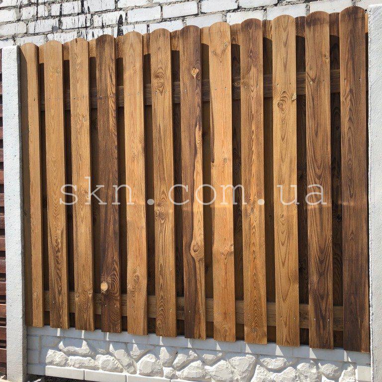 Забор из импрегнированной сосны Делавэр
