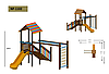 Детская игровая площадка 1102