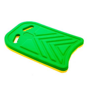Дошка для плавання( 27,5 *39 *3,5 см)