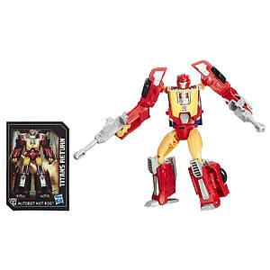 Трансформер Hasbro Хот Род и Файердрайв, Возвращение Титанов 15 см - Firedrive & Hot Rod, Deluxe