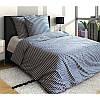 Комплект постельного белья евро  ПОЛОСКА  (навол.70*70)
