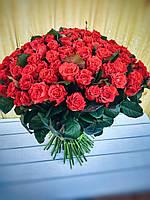 Букет 101 красная роза, фото 1