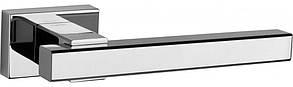Ручка дверная на розетке Tupai PRISMA 1921RT хром полированный (Португалия)